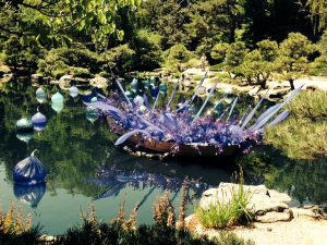 Denver Botanic Gardens during the Dale Chihuly exhibition in 2014. Photo by Beth Buehler.