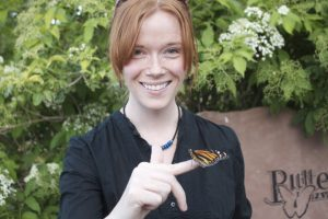 Butterfly release during Bubbles & Bubbly at the Butterfly Pavilion in Westminster, Colorado. Photo courtesy of the Butterfly Pavilion.