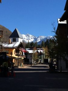 It's hard to beat a backdrop like this for a culinary tour in Vail. Photo courtesy of Vail Valley Food Tours.