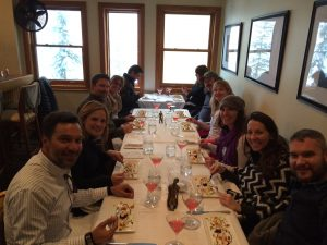 Experiencing La Tour Restaurant in Vail. Photo courtesy of Vail Valley Food Tours.