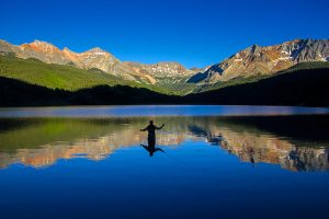 Fly-fishing at Trout Lake in Telluride. Photo by Ryan Bonneau.