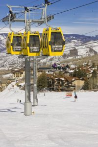 Skiing Snowmass, courtesy of Snowmass Tourism.