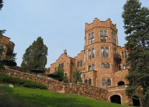 Glen Eyrie Castle and Conference Center, courtesy of VisitCOS.com.