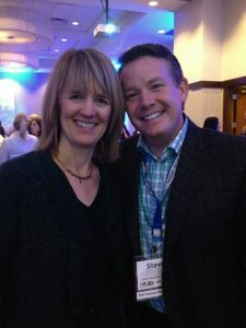 Beth Buehler and Steve Spangler at the MIC Educational Conference and Trade Show.