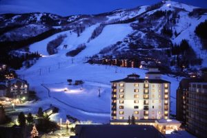 The slopeside Sheraton Steamboat Resort & Villas is one of many lodging options.