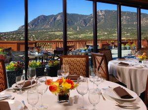 Cheyenne Mountain Resort's Mountain View Restaurant in Colorado Springs.