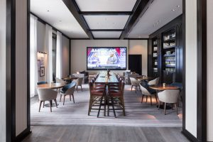 The Remedy, new at Four Seasons Resort & Residences Vail, has private spaces to enjoy food and beverage.