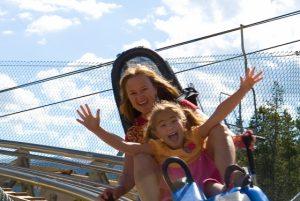 Gold Runner Alpine Coaster in Breckenridge. Photo courtesy of Leisa Gibson/Vail Resorts.