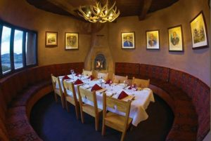 Private dining option at The Fort in Morrison.
