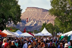 Colorado Mountain Winefest in Palisade. Courtesy Grand Junction VCB.