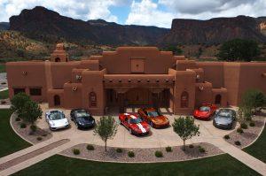 Gateway Canyons' auto museum.