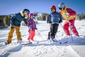 Family fun on the slopes at Winter Park. Photo courtesy of Winter Park Resort.