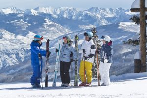 Great scenery and instruction go hand-in-hand for groups at Beaver Creek Resort. Photo by DA Davis.