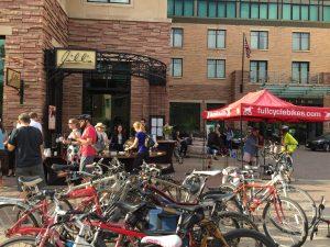Like many Colorado towns, Boulder is a bike-loving community. Courtesy of St Julien Hotel & Spa.