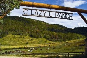 It's peaceful and beautiful at C Lazy U Ranch. Courtesy C Lazy U Ranch.