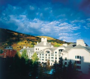 Fall splendor surrounding Park Hyatt Beaver Creek Resort & Spa. Courtesy Park Hyatt Beaver Creek.