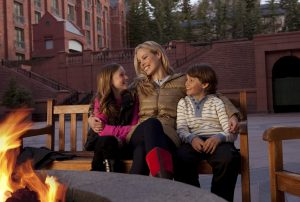 Incentive trips that involve families are popular at Colorado resorts. Courtesy of St. Regis Aspen.