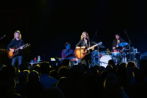 Sheryl Crow performs for an incentive group visiting Beaver Creek. Photo by Jensen Sutta.