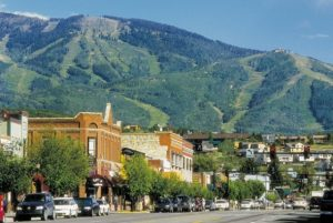 Downtown Steamboat Springs. Courtesy Steamboat Springs Chamber Resort Association.