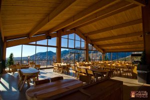 Enjoy stunning views from venues like the Pavilion at Cave of the Winds Mountain Park. Courtesy VisitCOS.com.