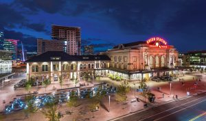Denver Union Station is one of Colorado's newest LEED-certified venues. Photo by Scott Dressell-Martin.