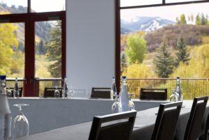 Westin Riverfront Resort and Spa at Beaver Creek Mountain was Colorado's first hotel to receive Silver LEED Certification. Courtesy Westin Riverfront Resort and Spa.