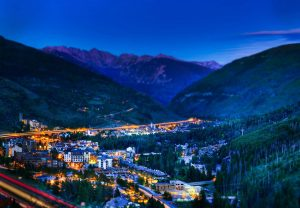 A scenic view of Vail Valley. Courtesy Vail Valley Partnership.