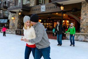 Ice skating in Beaver Creek. Courtesy Chris McLennan/Vail Resorts.
