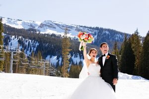Winter wedding in Snowmass. Courtesy Viceroy Snowmass.