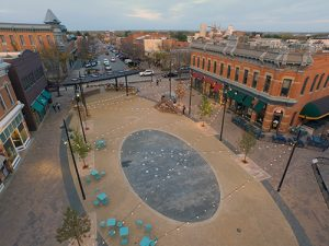 Recent renovations in Old Town Fort Collins. Courtesy Visit Fort Collins.