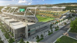 Colorado State University's new stadium is slated to open in fall 2017. Courtesy Visit Fort Collins.