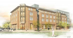 Rendering of The Elizabeth Hotel under construction in downtown Fort Collins. Courtesy Visit Fort Collins.