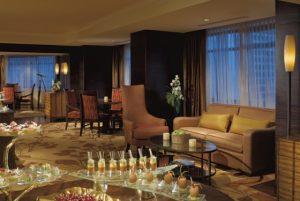 Spacious suites at The Ritz-Carlton, Denver can serve as a perfect location for an executive retreat. Courtesy The Ritz-Carlton, Denver.