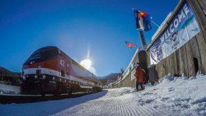The winter ski train returns to Winter Park this season. Courtesy Winter Park & Fraser Chamber.