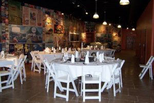 The Gateway Canyons Auto Museum's lobby can host up to 75 for dinner. Courtesy Gateway Canyons.
