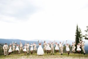 Mountaintop wedding at Winter Park. Courtesy Winter Park Resort.