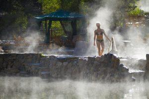 Strawberry Park Hot Springs in Steamboat Springs.
