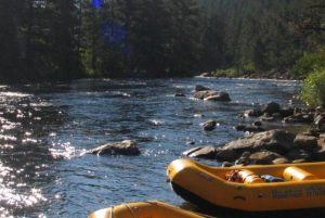Rafting the Poudre River in Fort Collins. Courtesy Visit Fort Collins.