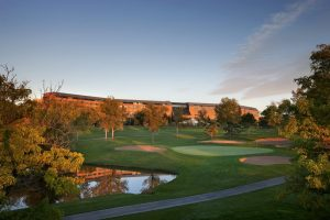 Golf is right outside The Inverness Hotel & Conference Center in Englewood.