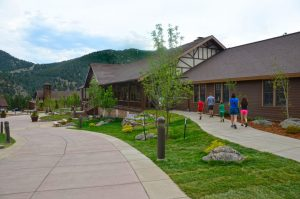 Estes Park Center YMCA offers all that is needed on-site and great acces to Rocky Mountain National Park. Courtesy YMCA of the Rockies.