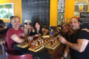 There is plenty of Colorado craft beer to sample on a Brew Tour organized by Vail Valley Food and Beer Tours. Courtesy Vail Valley Food and Beer Tours.