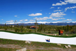 Summer tubing is one of the many activities offered year-round at YMCA of the Rockies' Snow Mountain Ranch. Courtesy Snow Mountain Ranch.