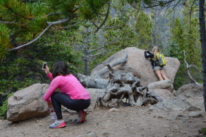Capturing the scenery on a photo safari at Rocky Mountain National Park. Photo by Stevie Crecelius.