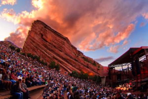 The iconic Red Rocks Amphitheatre in Morrison. Photo by Stevie Crecelius, courtesy of VISIT DENVER.