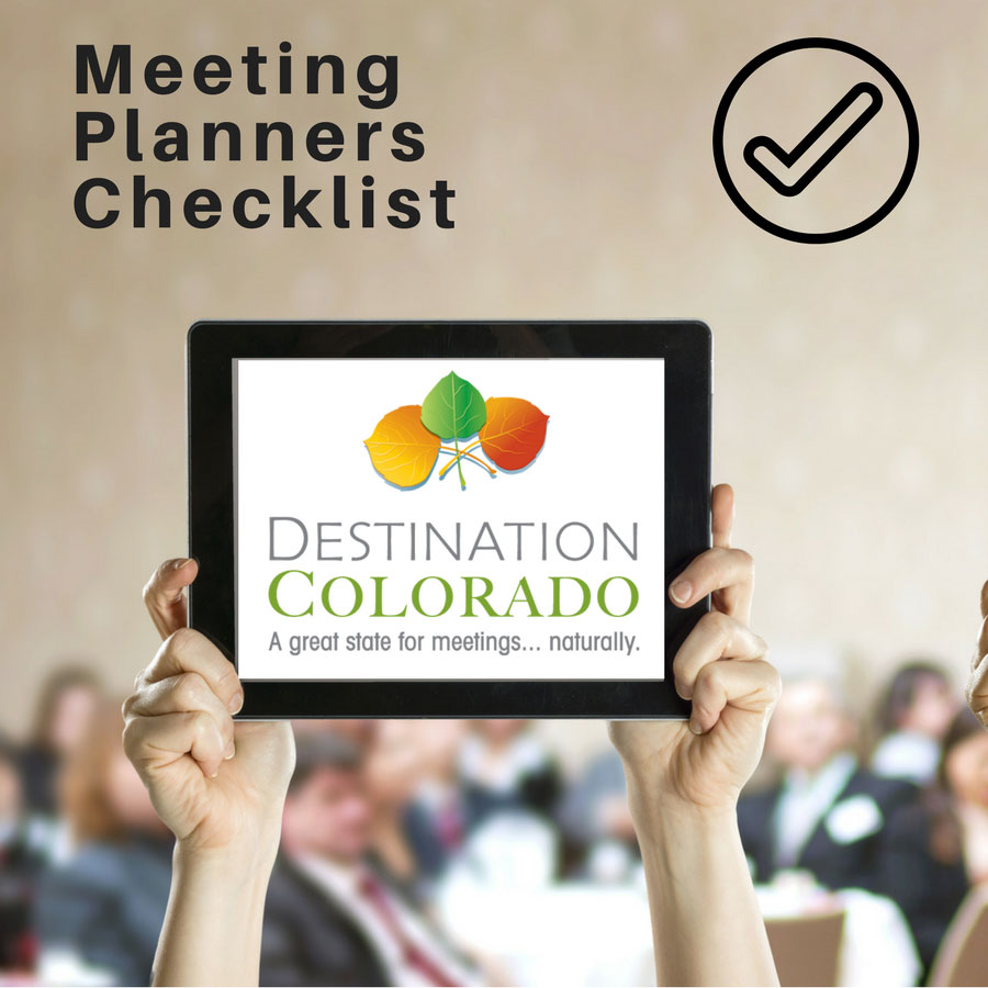 Meeting Planners Checklist