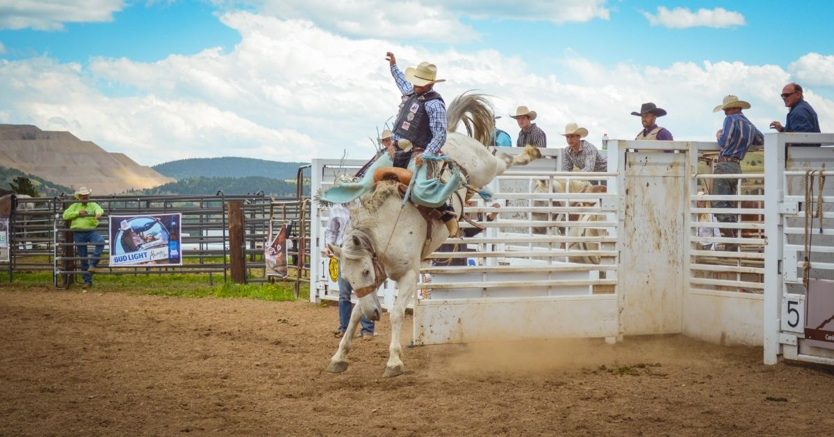 Top of the World Rodeo is the highest elevation rodeo in the world.