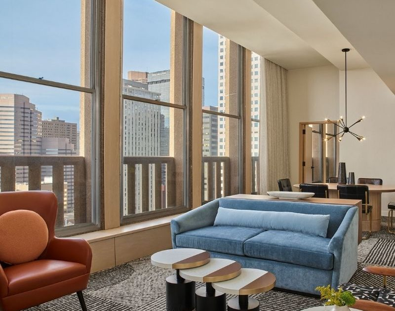 Sheraton Denver Downtown underwent a complete renovation including this Presidential Suite. Courtesy Sheraton Denver Downtown.